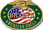 Bradys American Grill restaurant logo