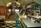 Peterborough Diner interior image