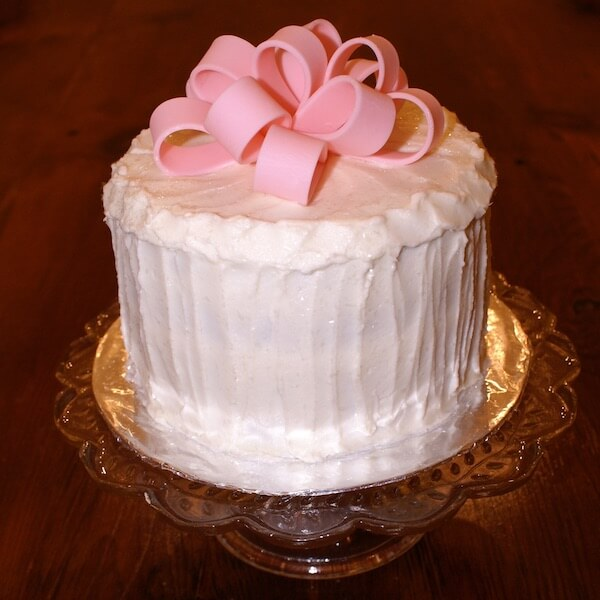 Image of our special package carrot cake