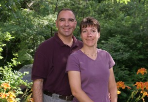 Image of Little River B&B innkeepers, Rob and Paula